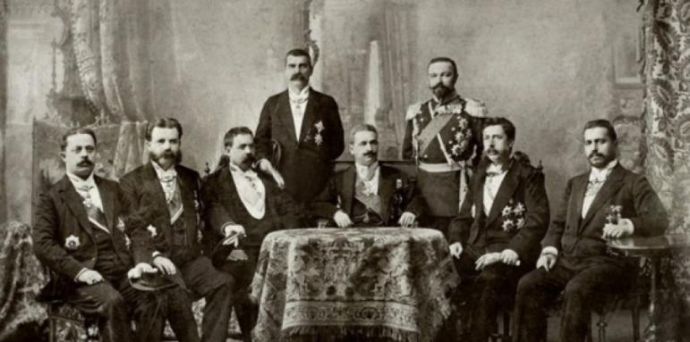 Резултат с изображение за правителство на Княжество България, начело с Петко Каравелов.