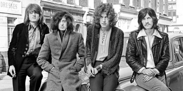 """Резултат с изображение за """"рок-група Led Zeppelin"""""""""""