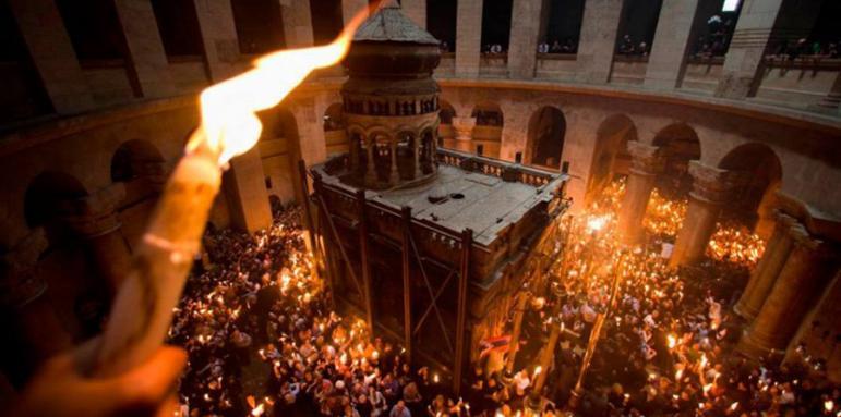 Благодатният огън слиза само за православните - Общество ...