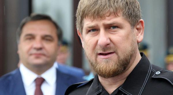 Лидерът на Чечения Рамзан Кадиров сепояви на правителственасреща днес, на