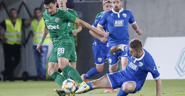 Българският футболен шампион Лудогорец посреща Марибор в първия мач от