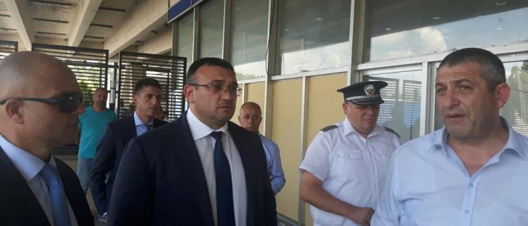 Вътрешният министър Младен Маринов в ще се срещне днес по