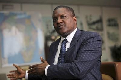 Най-богатият човек в Африка Алико Данготе се е устремил да