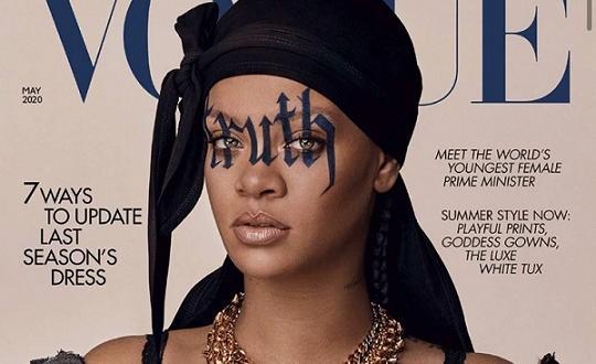 """В майския брой на британския Vogue Риана споделя """"Расизмът е"""