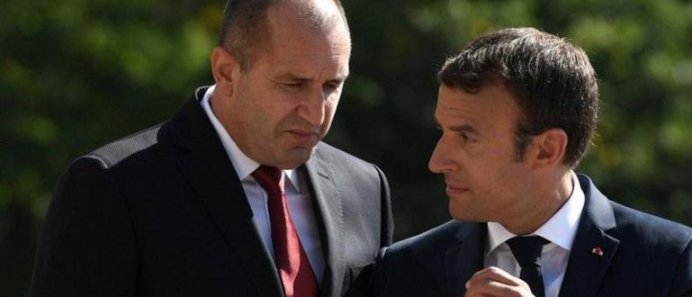 Румен Радев поздрави президента Еманюел Макрон по случай Националния празник