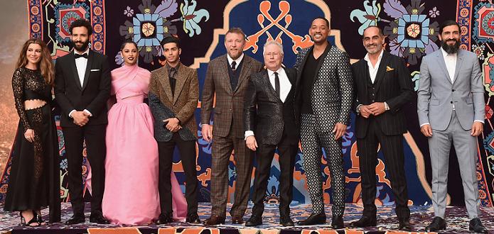 """Световната гала премиера на """"Аладин"""" се състоя в """"Ел капитан""""-"""