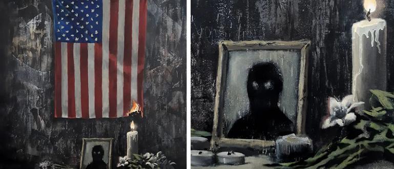 Авторът на графити Банкси показа новата си творба, която е