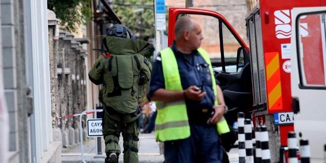 Терористична група заплашва със засадени бомби няколко медии у нас.