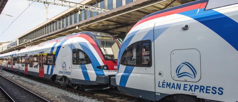 Най-голямата трансгранична крайградска железопътна линия в Европа - Leman Express,