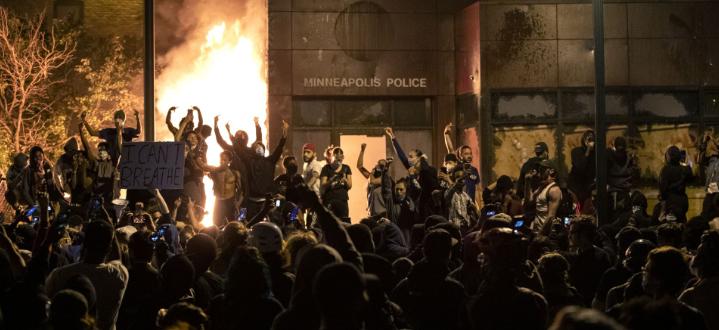 Извънредно положение и гвардия по улиците в Минеаполис в САЩ