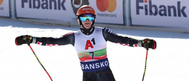 Филип Зубчич спечели първия от двата гигантски слаломи за Световната