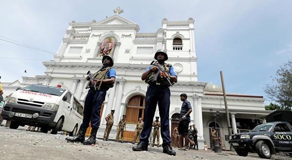 Стрелят по време на служби2019На 21 април в Шри Ланка