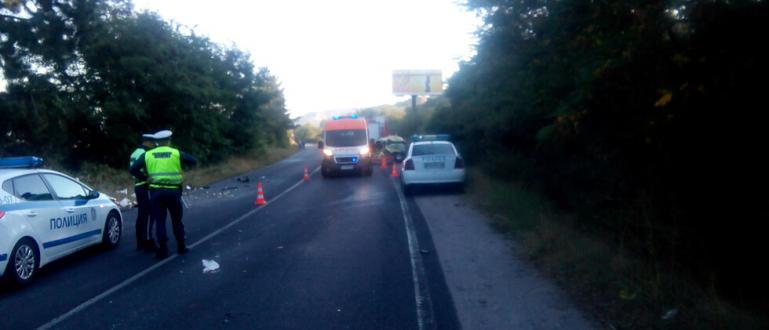 Снимка: Две жени загинаха в катастрофа при Кочериново