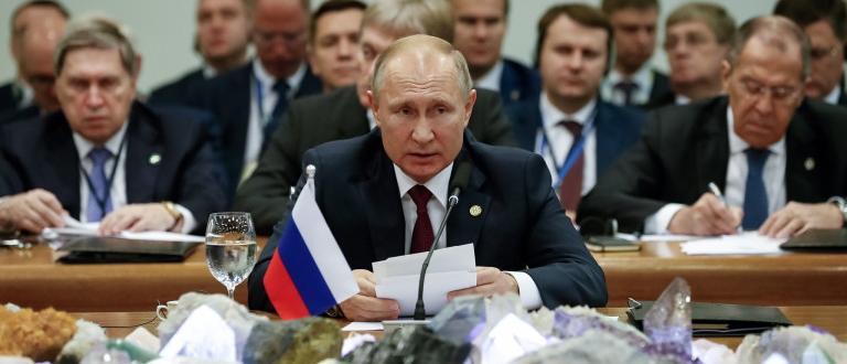 Владимир Путин заяви, че има рискове транзитът на руски газ