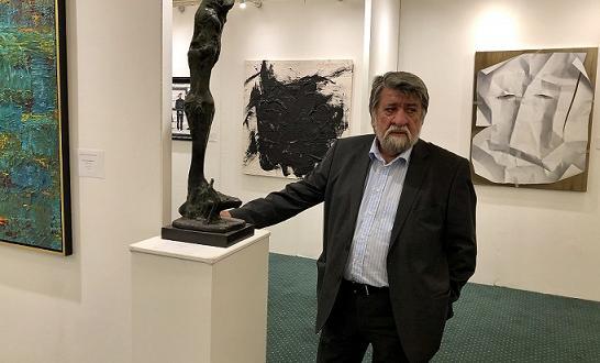 Биеналето за изкуство в Лондон аплодира Вежди Рашидов и неговото