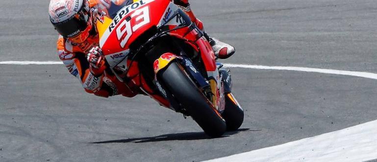 Действащият световен шампион в клас MotoGP с Хонда Марк Маркес