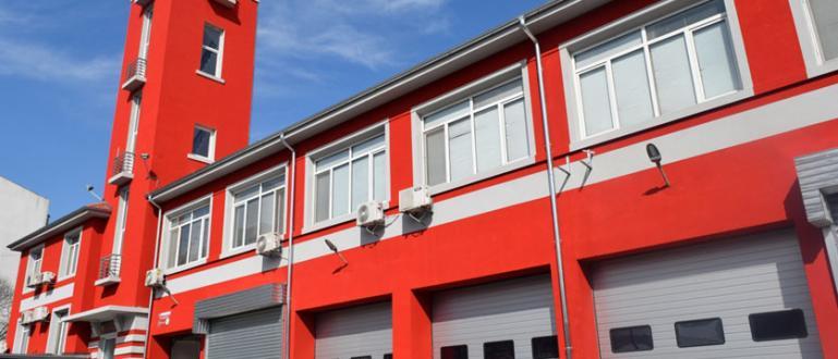 Сградата на Бургаската пожарна вече е изцяло обновена и предлага