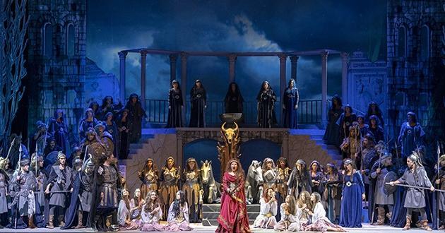 """Дългоочакваната премиера на спектакъла на операта """"Атила"""" от Джузепе Верди"""