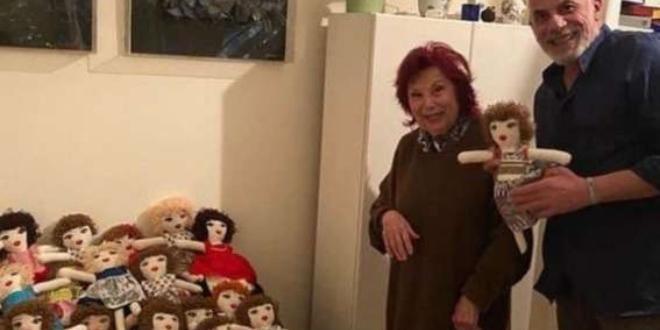 Ливанска художничка на преклонната възраст от 93 години даде надежда
