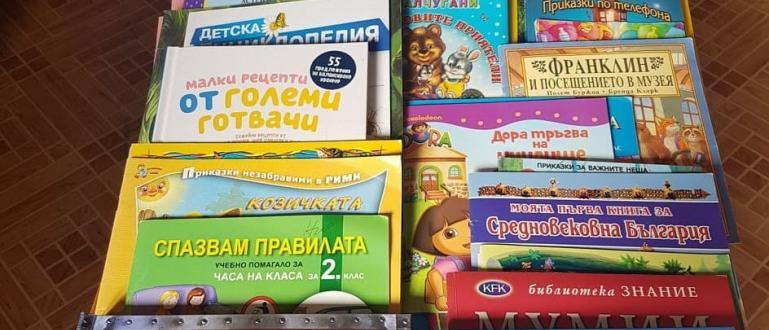 Старозагорската ученичка Ния Димитрова направи дарение от 100 детски книжки