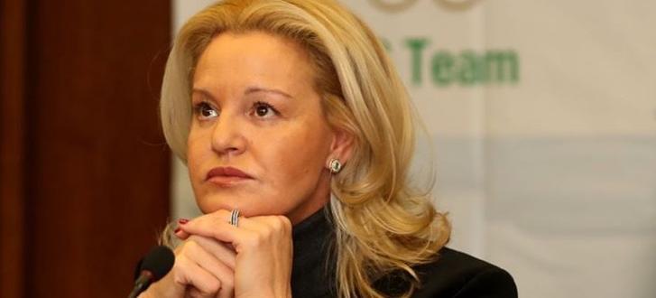 Председателят на Българския олимпийски комитет Стефка Костадинова коментира изявлението на