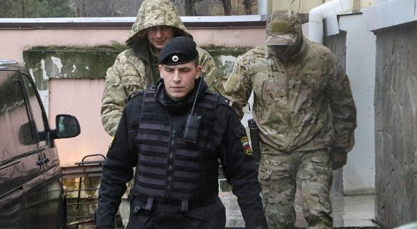 Снимка: Украинските моряци в Москва с удължен арест