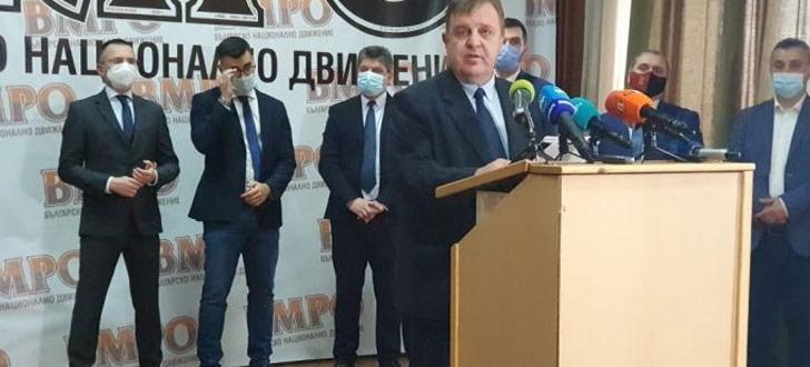 Вече са ясни водачите на листите на ВМРО. Красимир Каракачанов,