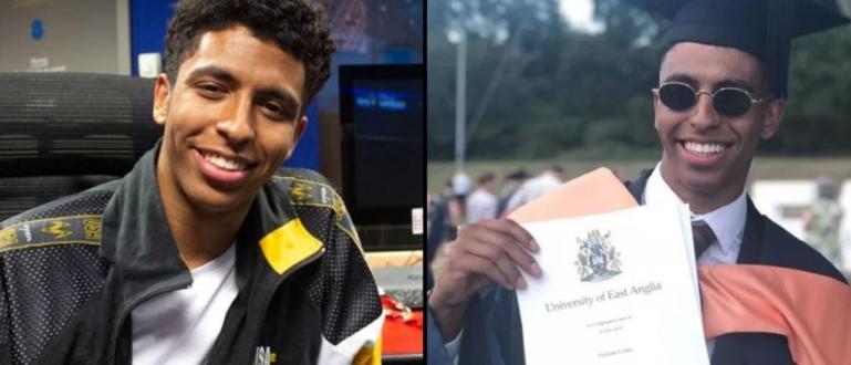 Английският чернокож студент Никълъс Узока изкара дисертацията си от 10