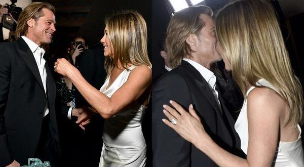 Дженифър Анистън носи годежния пръстен, с който Брад Пит иска