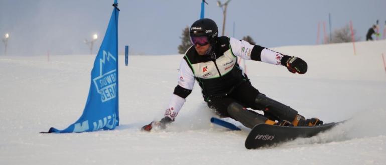 Носителят на Световната купа по сноуборд за 2016-а година Радослав