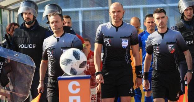БФС обяви съдийските назначения за мачовете от първия кръг на