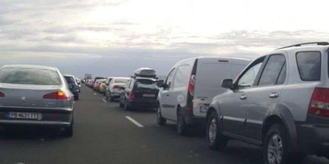 В следобедните часове се засили интензитета на трафика преди първия
