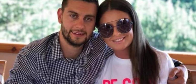 Футболистът на Левски Станислав Костов и половинката му станаха родители