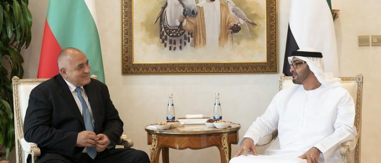 Премиерът Бойко Борисов разговаря по телефона с престолонаследника на Абу