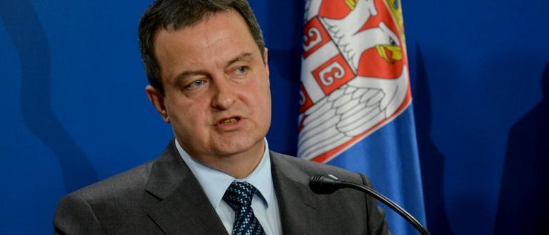 Външният министър в Белград Ивица Дачич направи разяснения за думите