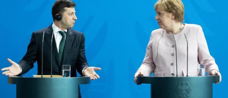 На Ангела Меркел й стана лошо днес, докато посрещаше украинския
