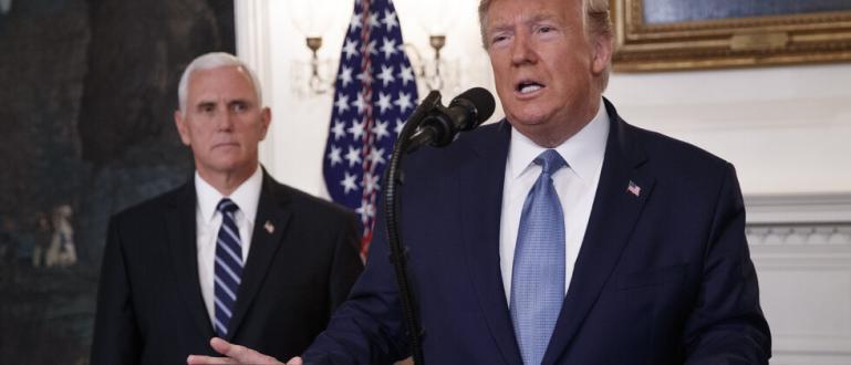 Президентът на САЩ Доналд Тръмп обяви отменянето на санкциите, наложени