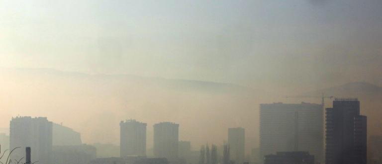 Отново мръсен въздух в страната.В ранните часове днес, 12 от