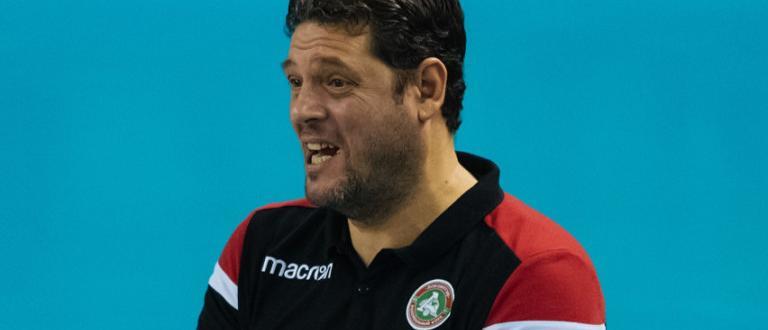 Българският волейболен треньор Пламен Константинов и воденият от него Локомотив
