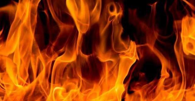 Пожар на площ около 1000 дка е възникнал между селата