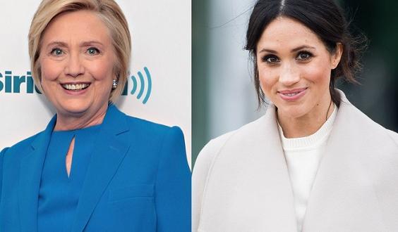 """Меган Маркъл тайно поканила Хилъри Клинтън нагости във """"Фрогмор котидж""""."""
