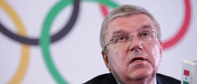 Президентът на МОК Томас Бах заяви, че засега ни вижда
