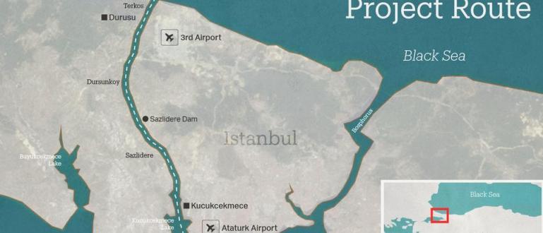 """Целта на проекта за строителството на канала """"Истанбул"""" е да"""