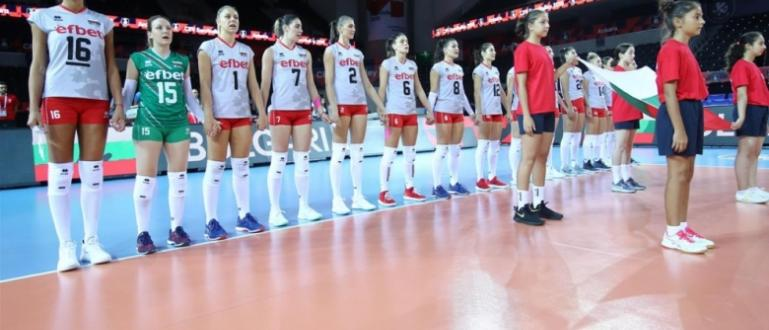 Женският национален отбор по волейбол на България, който е воден