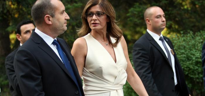 Съпругата на президента Румен Радев честити първия учебен ден на