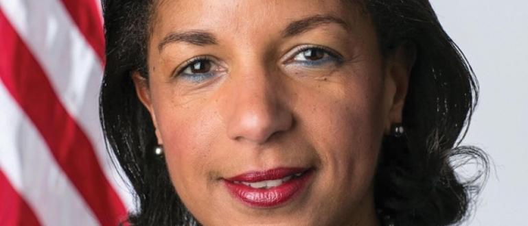 Сюзън Райс, бивш съветник по националната сигурност на президента на