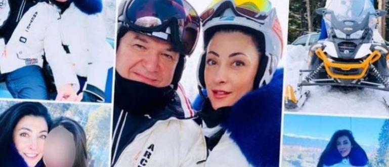 Снимки от разкошна зимна ваканция пусна в социалните мрежи Христина