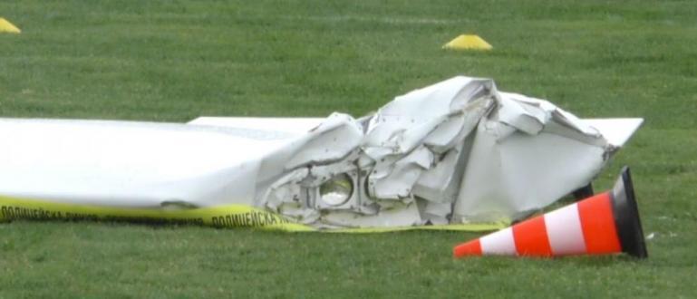 Разбилият се частен самолет е бил част отшоу с дронове
