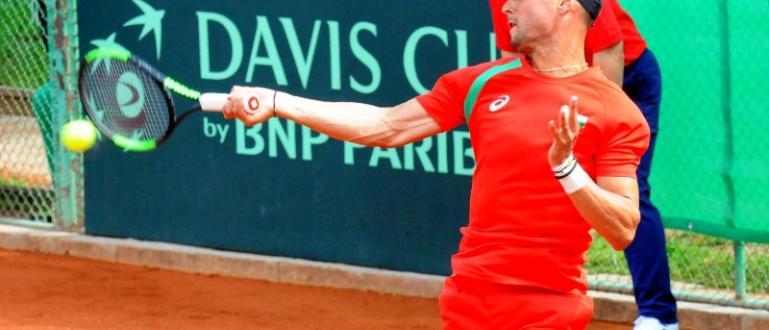 """Националът по тенис за Купа """"Дейвис"""" Димитър Кузманов се класира"""