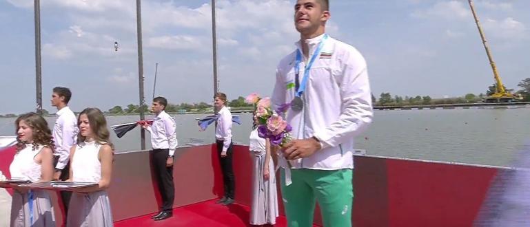 Снимка: Кодинов спечели сребро от световното по кану-каяк